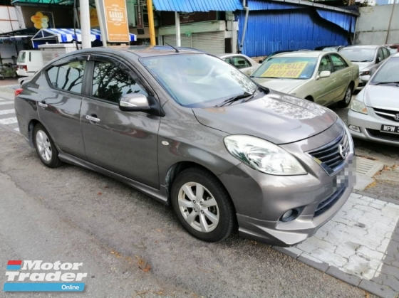 2012 NISSAN ALMERA 1.6 VL (A) B.LIST CAN LOAN DP 1388 START
