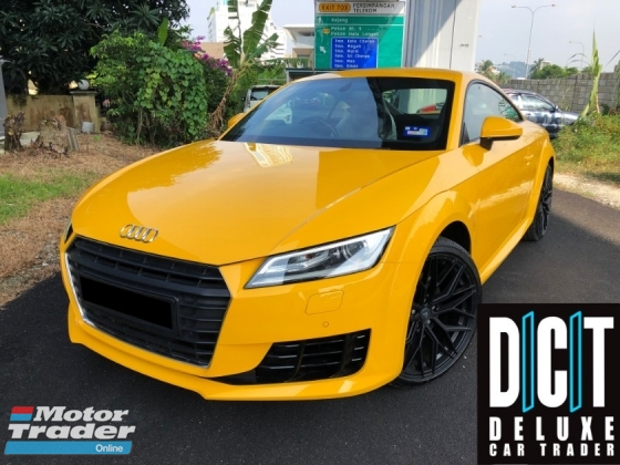 2016 AUDI TT 2.0 TFSI UNDER WARRANTLY UNTIL 2020 FULL SERVICE RECORD LOCAL FULL SPEC