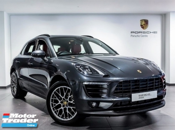 2018 PORSCHE MACAN 2.0 Facelift 3K Miles Porsche UK Approved Pre Owned LED Chrono