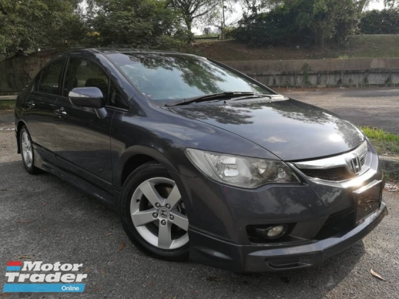 2011 HONDA CIVIC 1.8 S-L (A) IVTEC FACELIFT FULL LEATHER