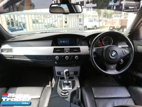 2009 BMW 5 SERIES 525I M-SPORTS E60 I-DRIVE TIP-TOP FACELIFT
