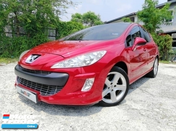 2012 PEUGEOT 308 1.6 (A) FULL SPEC PANAROMIC ROOF GOOD CONDITION PROMOTION PRICE.