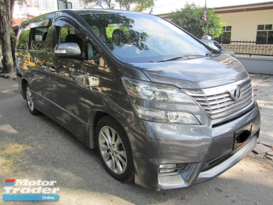 2011 TOYOTA VELLFIRE 2.4Z PLATINUM SELECTION II TYPE GOLD II DIRECT OWNER