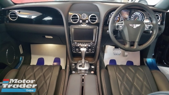 2014 BENTLEY FLYING SPUR 4.0 V8 MULLINER PACK S/ROOF REAR ENTERTAINMENT (A) OFFER UNREG SHOWROOM CONDITION