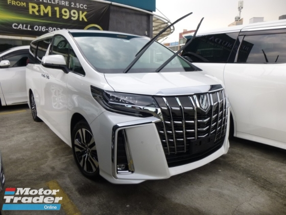 2018 TOYOTA ALPHARD 2.5 SC NEW FACELIFT. GENUINE MILEAGE. HIGHEST GRADE CAR. HIGHEST LOAN. PROVIDE WARRANTY. VELLFIRE