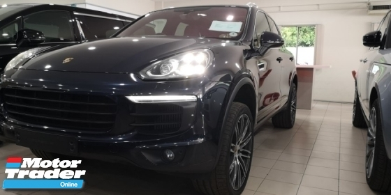 2014 PORSCHE CAYENNE S 3.6 / 420HP / DIAMOND BLUE BODY / TIPTOP CONDITION FROM UK / READY STOCK NO NEED WAIT / OFFER