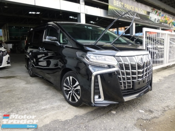2018 TOYOTA ALPHARD 2.5 SC FULL SPEC NEW FACELIFT. GENUINE MILEAGE. HIGHEST GRADE CAR. PROVIDE WARRANTY. TOYOTA VELLFIRE