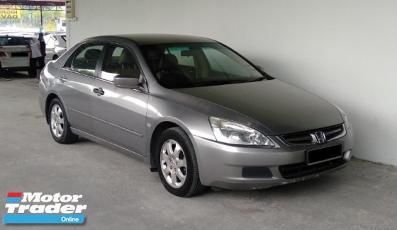 2005 HONDA ACCORD 2.4 i-VTEC Leather Seats Premium Model
