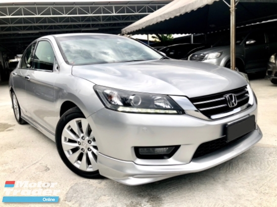 2015 HONDA ACCORD 2.0 VTI-L (A) 1 DIRECTOR OWNER FULL SPEC FACELIFT MODEL