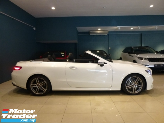 2018 MERCEDES-BENZ E-CLASS E300 AMG COUPE CABRIOLET FULLY LOADED. GENUINE MILEAGE. HIGHEST GRADE CAR. MERCEDES BENZ BMW AUDI