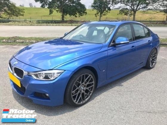 2017 BMW 3 SERIES F30 330e 2.0 T (A) LCI M Sport Under BMW Warranty  4k Mileage