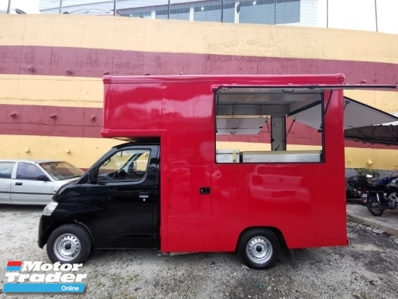 2013 DAIHATSU GRAN MAX FOOD TRUCK ALL CABINET READY