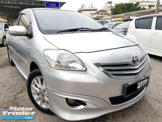 2010 TOYOTA VIOS 1.5G (AT) TRD bodykit Perfect Cond Leather Seat High Loan