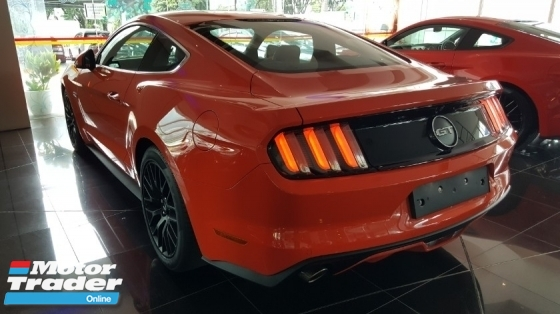 2017 FORD MUSTANG GT COUPE 5.0 V8 PROSHAKER AUDIO ORANGE LTD COLOR (A) OFFER UNREG