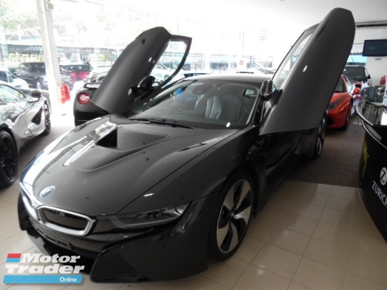 2015 BMW I8 eDRIVE (PLUG-IN HYBRID) 1.5 TURBO