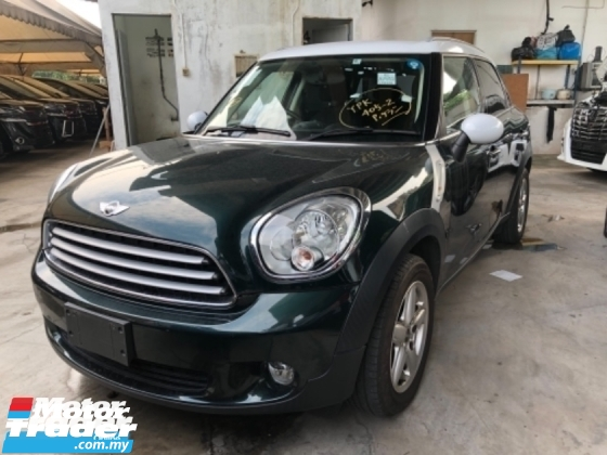 2014 MINI Countryman Unreg Mini Cooper Countyman 1.6 Push Start Camera  Tiptronic Gear