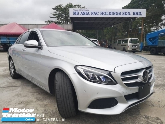 2017 MERCEDES-BENZ C-CLASS C200 2.0 (A) Advantgarde Turbo Sports Unregistered