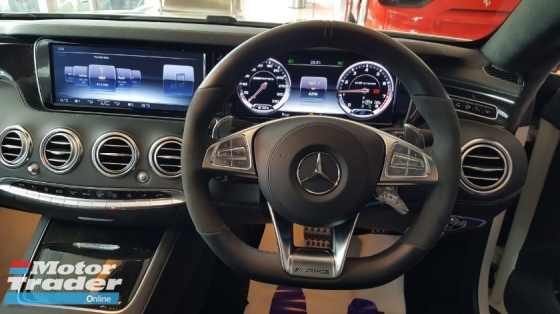 2015 MERCEDES-BENZ S-CLASS S63 5.5 AMG COUPE UK SPEC P/ROOF BURMESTER FULLY LOADED (A) OFFER UNREG