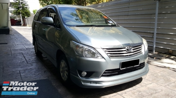 2013 TOYOTA INNOVA 2.0 G PACKAGE