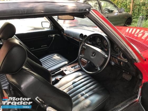 1988 MERCEDES-BENZ SL 300SL R107 stock ready