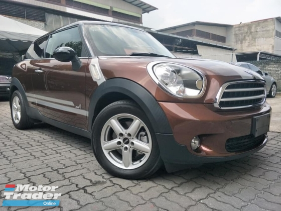 2014 MINI PACEMAN ALL4 1.6