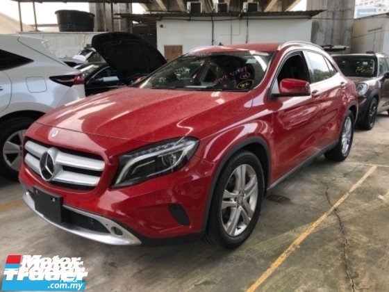 2014 MERCEDES-BENZ GLA Unreg Mercedes Benz GLA180 1.6 Turbo PowerBoot 7Speed