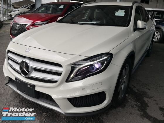 2014 MERCEDES-BENZ GLA 250 AMG 4 MATICS JAPAN UNREG