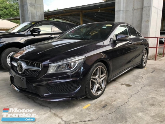 2016 MERCEDES-BENZ CLA 250 AMG ACTUAL YEAR MAKE  SST INCLUSIVE