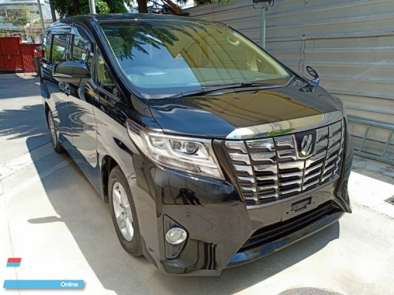 2016 TOYOTA ALPHARD 2.5 X 8 SEATER 2 P/DOOR (A) OFFER UNREG