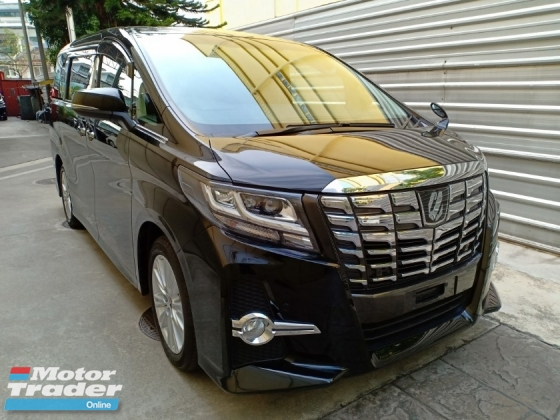 2016 TOYOTA ALPHARD 2.5 S 8 SEATER PRE-CRASH ALPINE ROOF MONITOR 2 P/DOOR (A) OFFER UNREG