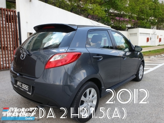2012 MAZDA 2 1.5 HATCH BACK V-SPEC