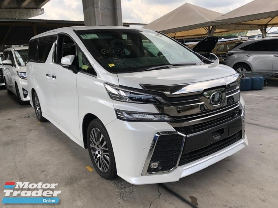 2016 TOYOTA VELLFIRE 2.5 ZG SST INCLUSIVE NO HIDDEN CHARGES ACTUAL YEAR MAKE UNREG