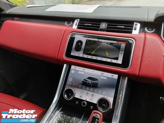 2018 LAND ROVER RANGE ROVER SPORT {50%-Sale Tax Discount} {100%-Genuine Mileage} 2018 Land Rover Range Rover Sport SVR 575Hp. Vogue