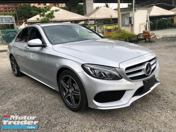 2014 MERCEDES-BENZ C-CLASS C180 AMG 1.6 UNREG JAPAN
