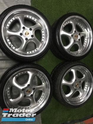 PORSCHE SPORTS RIMS 19 INCH STAGGERED ORIGINAL  Rims & Tires