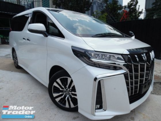 2018 TOYOTA ALPHARD 2.5 SC PACKAGE PRE CRASH NEW FACELIFT