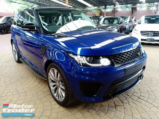 2015 LAND ROVER RANGE ROVER SPORT SVR 5.0 V8 PANORAMIC ROOF MERIDIAN AUDIO (A) OFFER UNREG