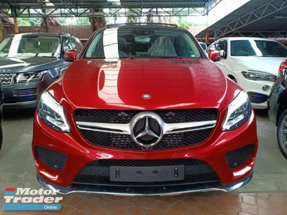2016 MERCEDES-BENZ GLE GLE350D 3.0 AMG PREMIUM PLUS P/ROOF H/KARDON SURROUND CAMERA (A) OFFER UNREG