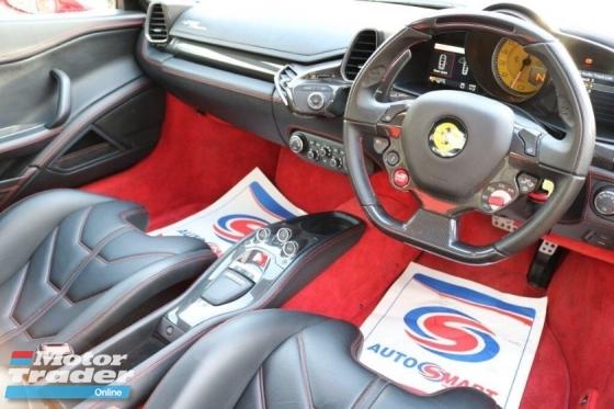 2013 FERRARI 458 ITALIA Ferrari 458 ITALIA DCT