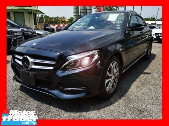 2015 MERCEDES-BENZ C-CLASS C180 AVANTGARDE - UNREG - READY TO VIEW - JAPAN SPEC
