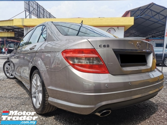 2008 MERCEDES-BENZ C-CLASS Mercedes Benz C180 K 1.8 (A) AMG SPORT EDITION