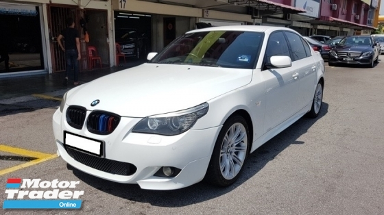 2009 BMW 5 SERIES 525I M-SPORTS 2.5cc (A) REG 2009, CAREFUL OWNER, LOW MILEAGE DONE 105K KM, FREE 1 YEAR GMR CAR WARRANTY, 18\