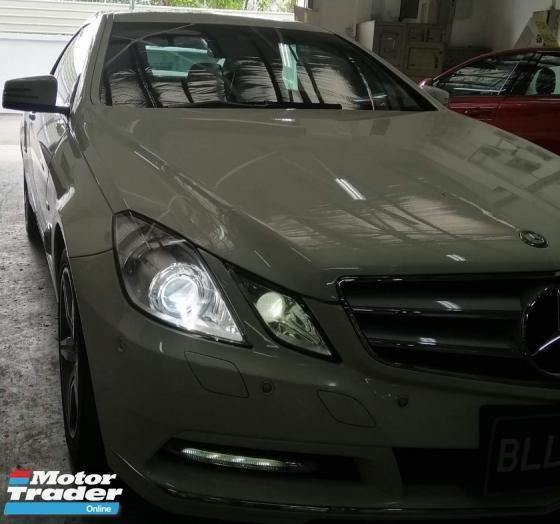 2011 MERCEDES-BENZ E-CLASS E250 CGI COUPE