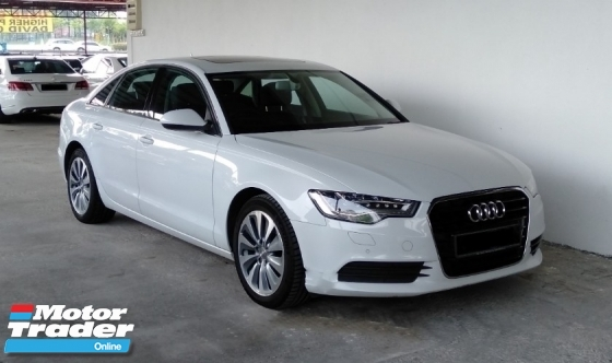 2014 AUDI A6 2.0 (A) TFSI Hybrid Powerful Luxury Sedan