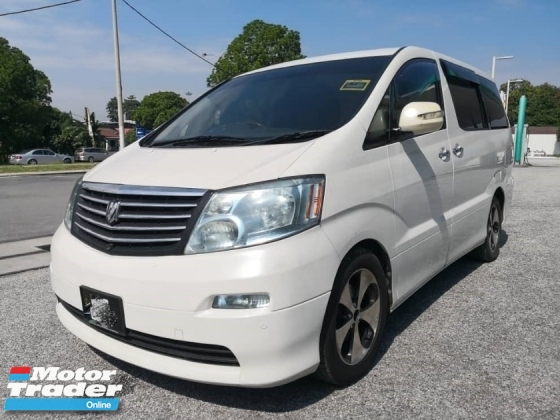 2005 TOYOTA ALPHARD 3.0 MZG FACELIFT SUNROOF POWERBOOT 7 SEATER