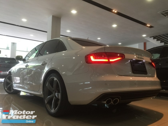 2014 AUDI A4 2014 Audi A4 2.0 TFSI QUATTRO S-LINE  (RECON ) Price Nego Nego !!! Boss Want Cash dont want Car !!! Call Us Now