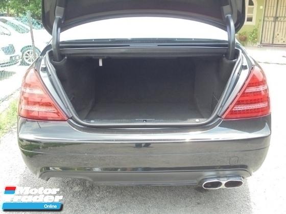 2007 MERCEDES-BENZ S-CLASS S500L 5.5 V8 W221 Facelift NAVI Sunroof LikeNEW Reg.2011