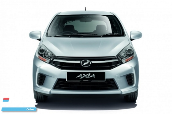 2019 PERODUA AXIA (A) FULL LOAN