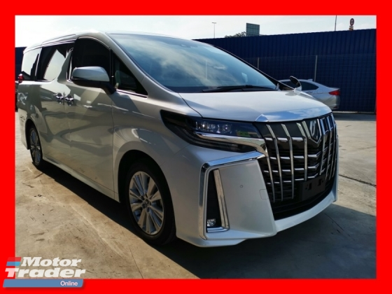 2018 TOYOTA ALPHARD 2.5S EDITION WITH SUNROOF/NEW FACELIFT - UNREG