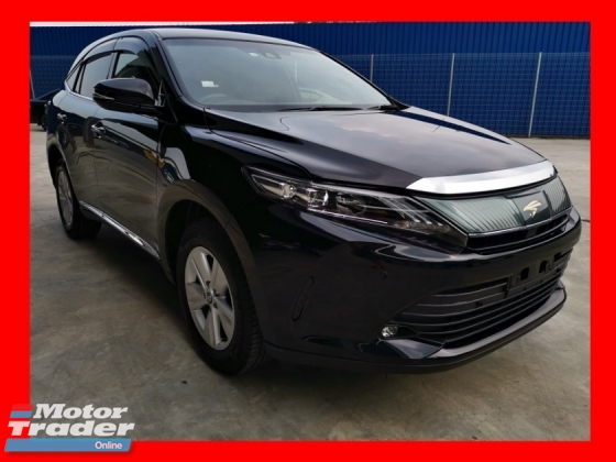 2018 TOYOTA HARRIER 2.0 ELEGANCE WITH ALPINE PLAYER/NEW FACELIFT/LOW MILEAGE - UNREG